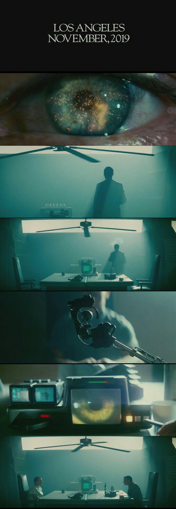 Blade Runner(1982) Opening Scene.