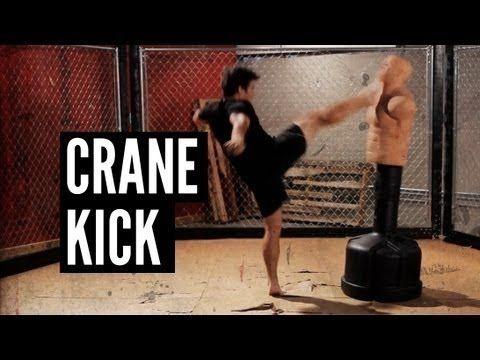 "Lyoto Machida Crane Kick Andrew ""Squid"" Montañez   http://www.mmasurge.com #mma"