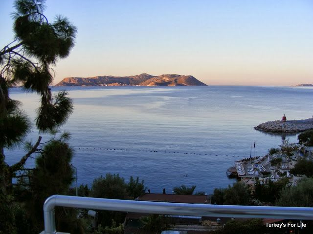 View Of Meis (Kastellorizo) Island From #Kaş, #Turkey