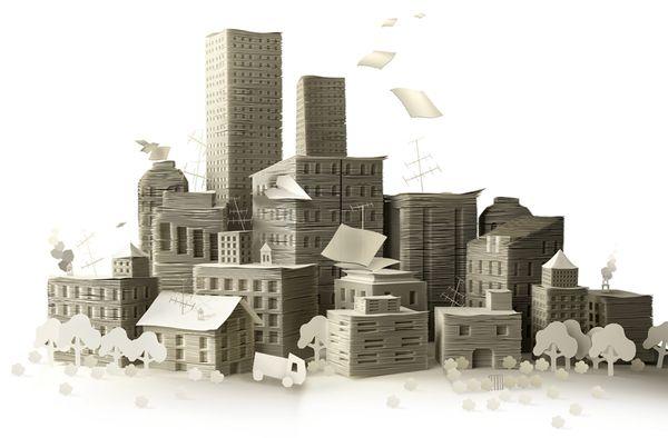 City Paper by Maria Datei, via Behance