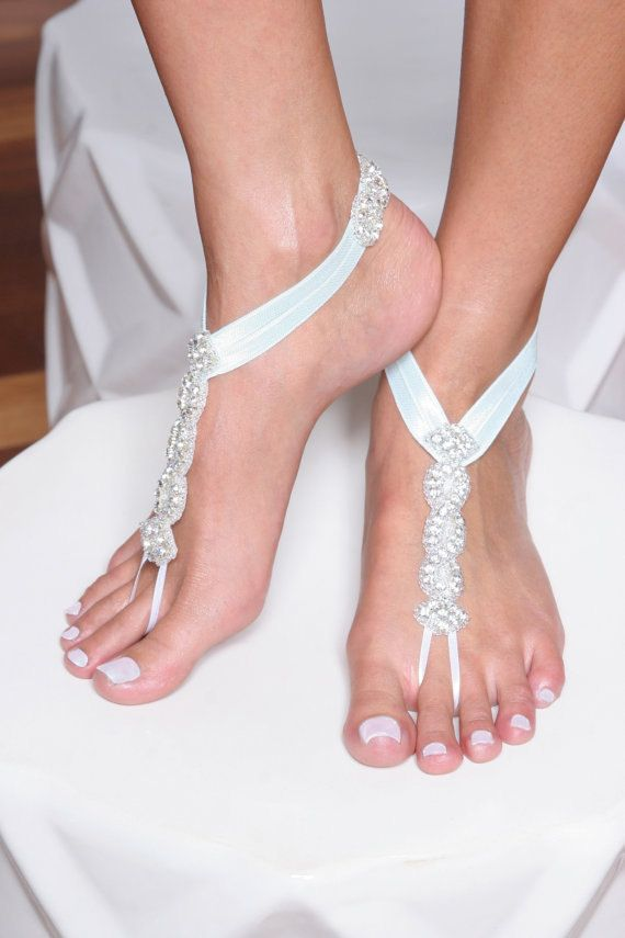HOPE, Barefoot Sandals, Beach Wedding Barefoot Sandals, Foot Jewelry, Beach Shoes, Bohemian Barefoot Sandals on Etsy, $72.00