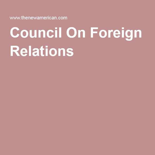 "Council On Foreign Relations--A Must Read To Understand What Happens Here--The reason that presidential candidates' promises of ""change"" go largely unfulfilled once in office: they draw their top personnel from the same establishment groups — of which the Trilateral Commission is only one.  Chief among these groups is the Council on Foreign Relations (CFR), the most visible manifestation of what some have called the American establishment. Members of the council have dominated the…"