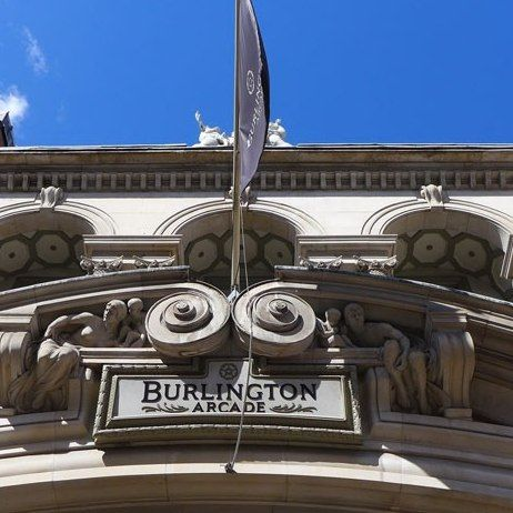 BURLINGTON ARCADE: Architectural Digest