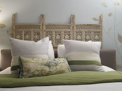 Wood Screen Headboard Looking For Carved Indian Panels