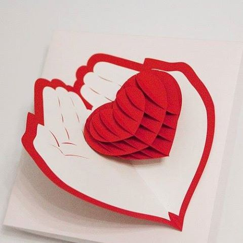 Kirigami - Pop Up Card https://www.facebook.com/Kirigami.Pop.up.card.Quilling/photos/a.293615810699367.69760.253467314714217/698796296847981/?type=1&relevant_count=1