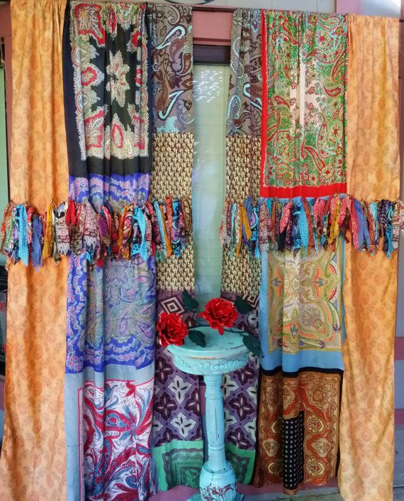 Best 25+ Hippie Curtains Ideas On Pinterest