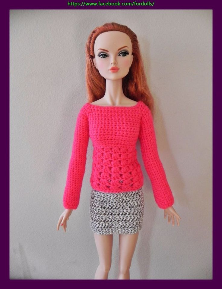 Handmade clothes for FR16 Tulabelle Poppy Parker and similar 16 inches dolls