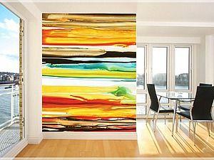 """""""Акварельные"""" стены - яркий и нетрадиционный способ украсить дом. - Ярмарка Мастеров - ручная работа, handmade"""