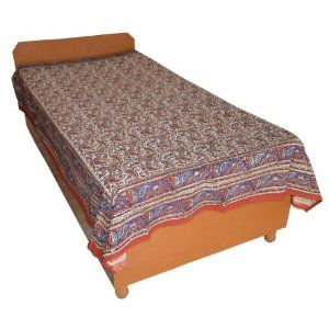 The fabric is handloom woven by the textile weavers of Sanganer, Rajasthan. These bedsheets are printed by the artisans of Jaipur. These printed bed sheets and bed linen in numerous designs that reflect the traditional as well as modern art, available with us in various print combinations and styles such as Sanganeri print bed sheets, Bagru print bed sheets, Rapid print bed sheets, Daboo print bed sheets, black and white print bed sheet, on cotton fabric material.
