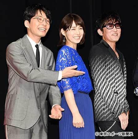 左から星野源、石田ゆり子、スガシカオ - Yahoo!ニュース(東スポWeb)