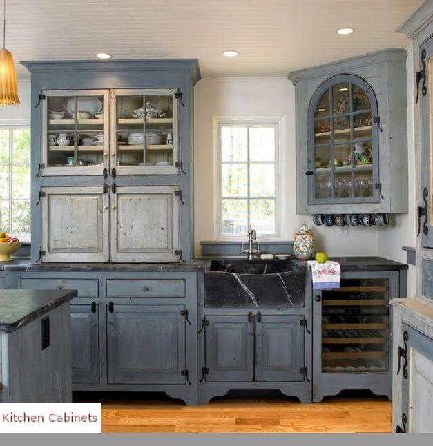 Rustic backsplash. #kitchens Peel and stick tile ...