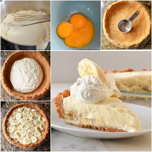 How to DIY Banana Pudding Cheesecake #Cake, #Recipe