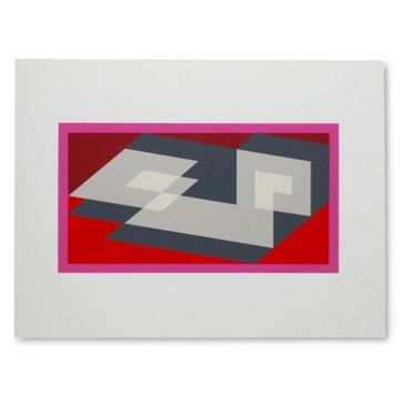 Check out this item at One Kings Lane! Josef Albers, Portfolio 1, Folder 14