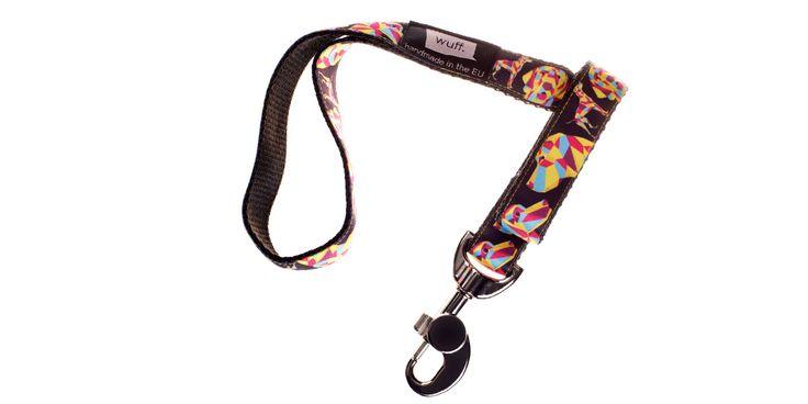 Vizsla Dog Leash Not only Hungarian Vizslas, Deutsche Kurzhaars, Bracco Italianos and Weimaraners but Pointers also look great wearing this WUFF leash. http://www.wuffcollars.com/en/item/Vizsla_Leash-122 Item Code: 122