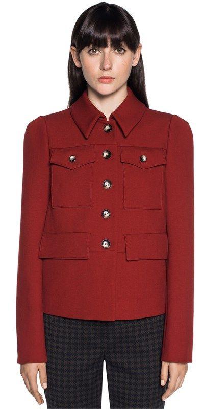 Jackets | Double Weave Topstitch Jacket