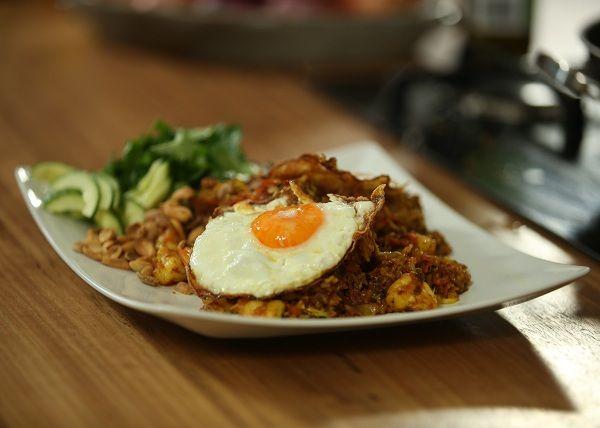 King Prawn Nasi Goreng recipe - The Cooks Pantry