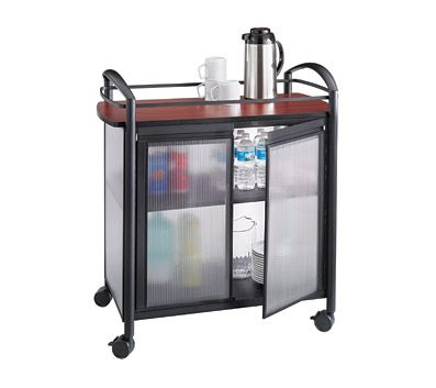 130 best office decor images on pinterest for Coffee carts for office