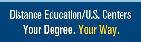 Your Degree. Your Way. Online Program, Self-Paced Study Program, U.S. Centers