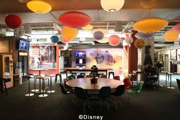 Roy E Disney - Walt Disney Animation Studios - Big Hero 6 Day Tour - Caffeine Patch