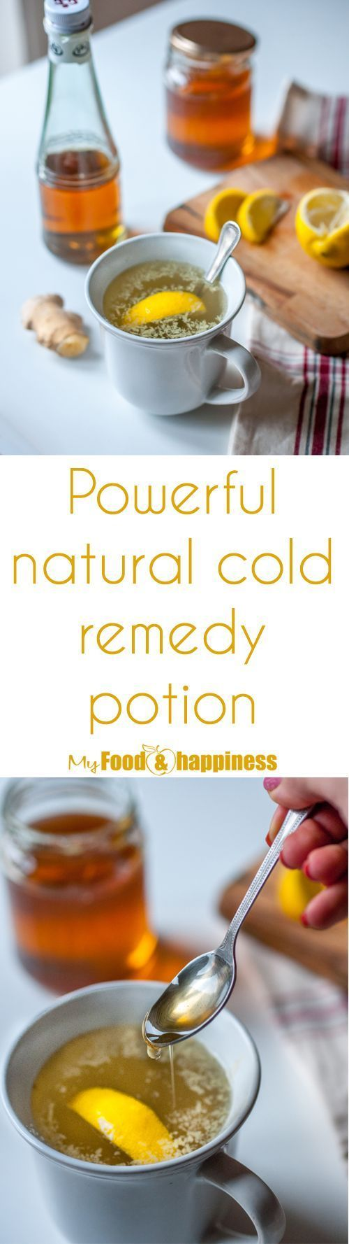 This healthy warm drink will help you in the cold winter months. Powerful natural cold remedy potion to relieve common cold symptoms such as runny nose, cough and sore throat. Made with some super nutritious ingredients like Apple cider vinegar & ginger.