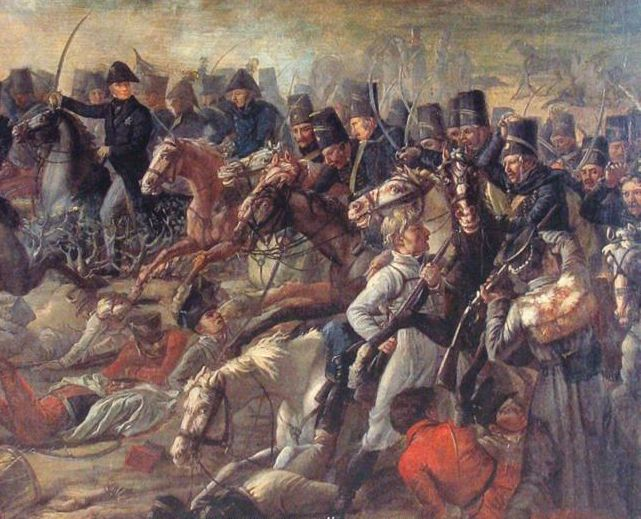 Battle of Bornhöft 1813, the Swedish hussars lead by Gustaf Bror Cederström blasts through the Danish front line. The battle of Bornhöft is the last battle fought between Swedes and Danes.