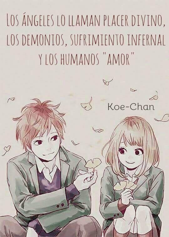 Amor Frases De Sentimientos Pinterest Anime Frases And Thoughts