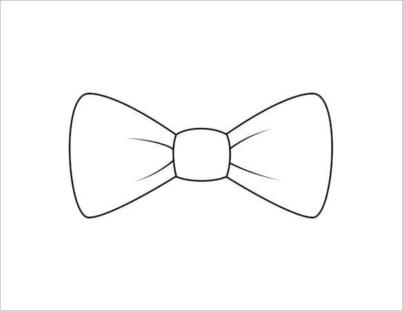 Free Bow Tie Pattern Fliege Muster Fliege Basteln