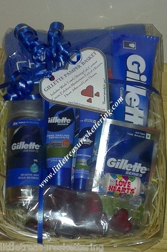 Gillette Pamper Hamper Gift For Dad Birthday Him Husband