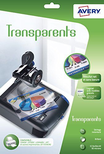 transparents pour rétroprojecteur