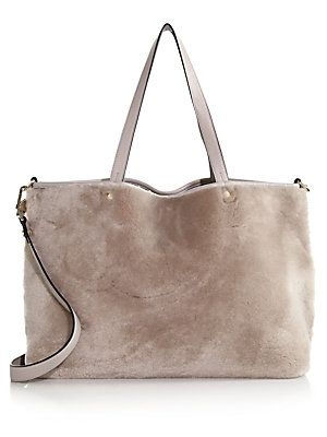 Luana Italy Carlyle Reversible Shearling