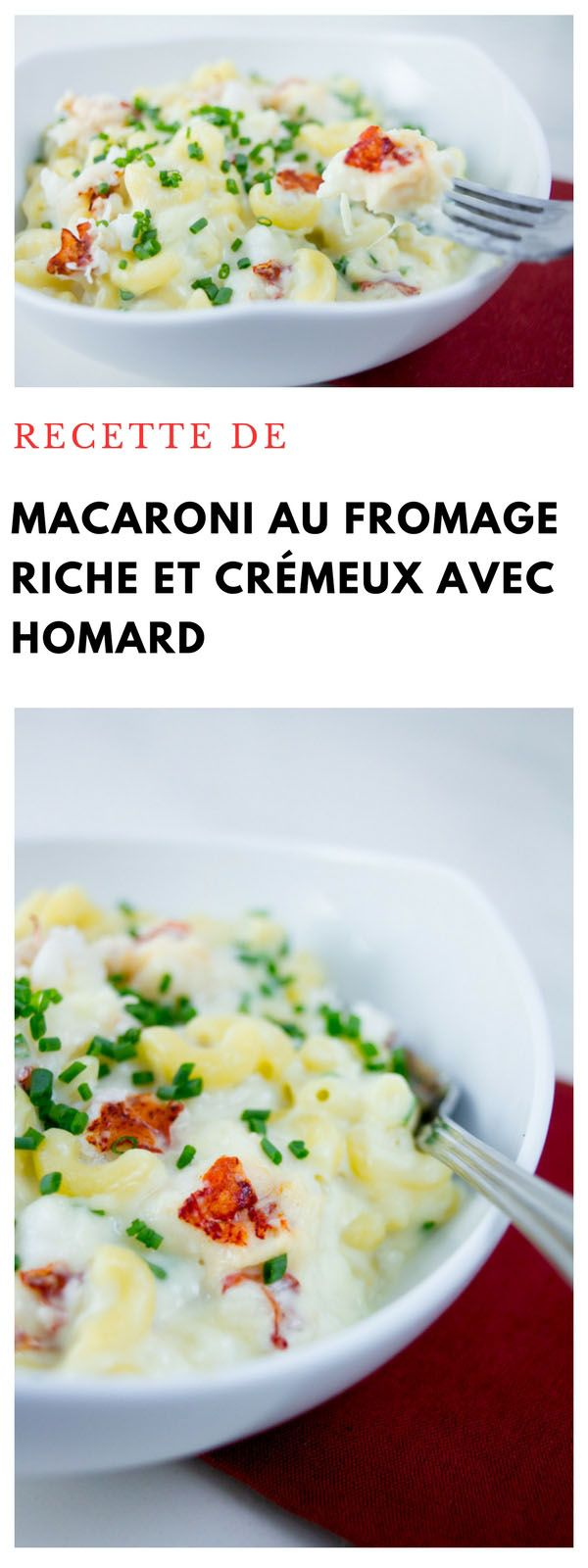 #macaroni #fromage #crémeux #homard