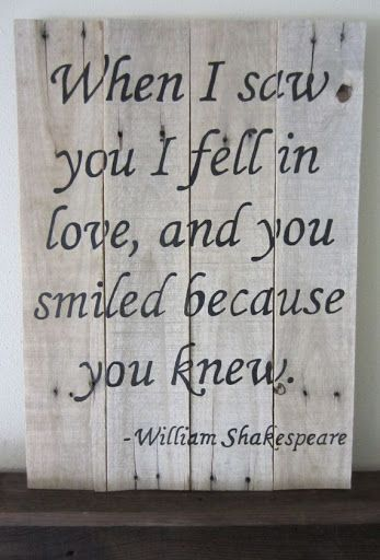 Shakespeare Quotes About Love At First Sight : + Shakespeare Quotes on Pinterest William shakespeare, Shakespeare ...
