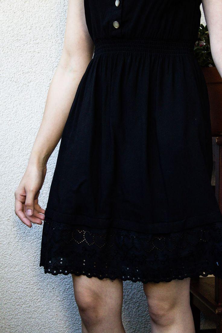 [DIY] Kleid verlängern
