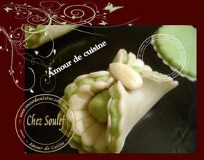gateau algerien, les noeuds aux amandes - Amour de cuisine