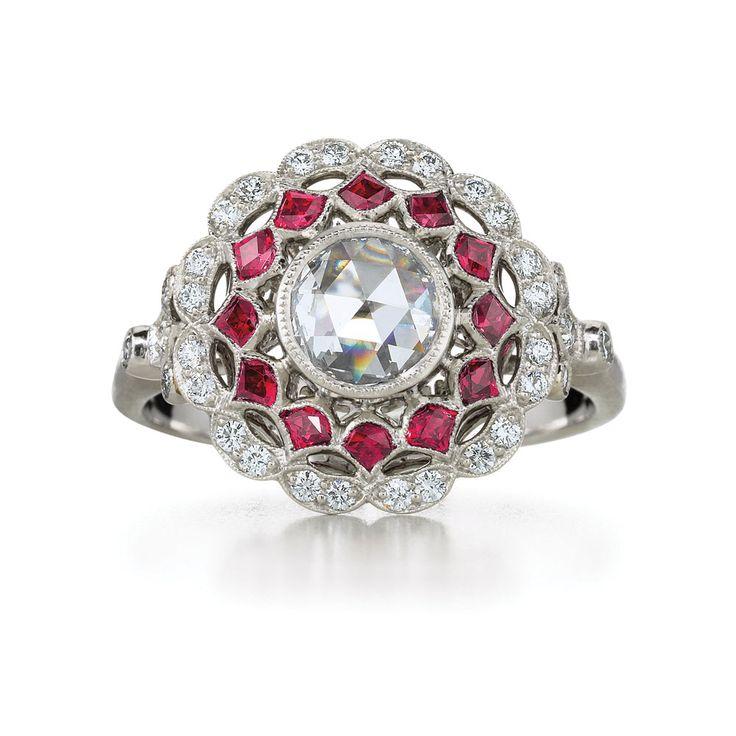 583 best Rings: Ruby - Spinel - Rhodolite Gemstones images ...
