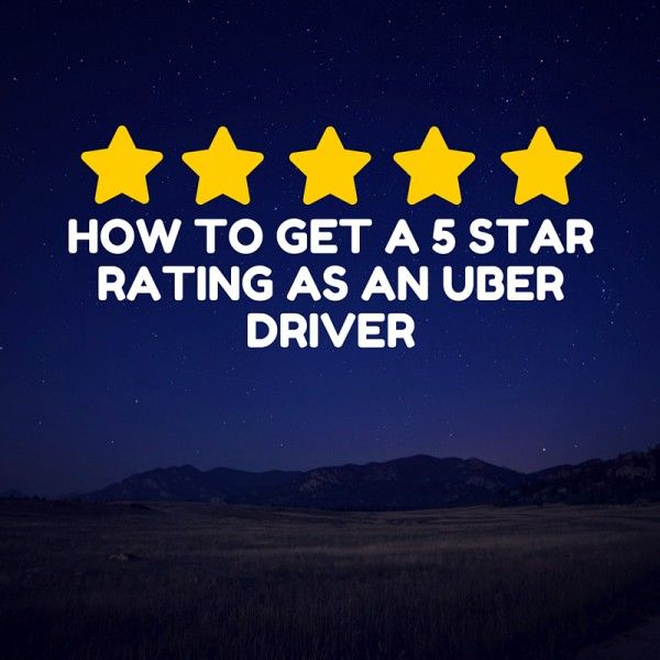 how to become the best uber driver
