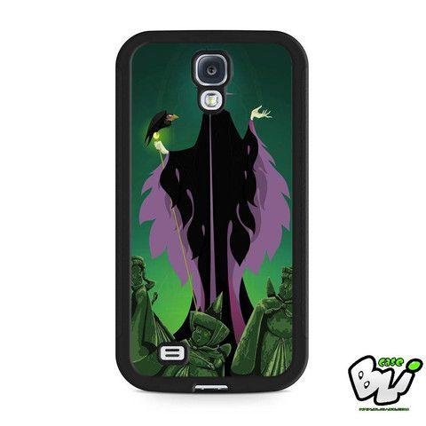 Disney Maleficent And Diablo Villain Samsung Galaxy S4 Case
