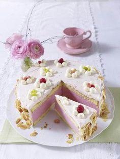 Das Rezept für Himbeer-Quark-Sahne-Torte und weitere kostenlose Rezepte auf LECKER.de