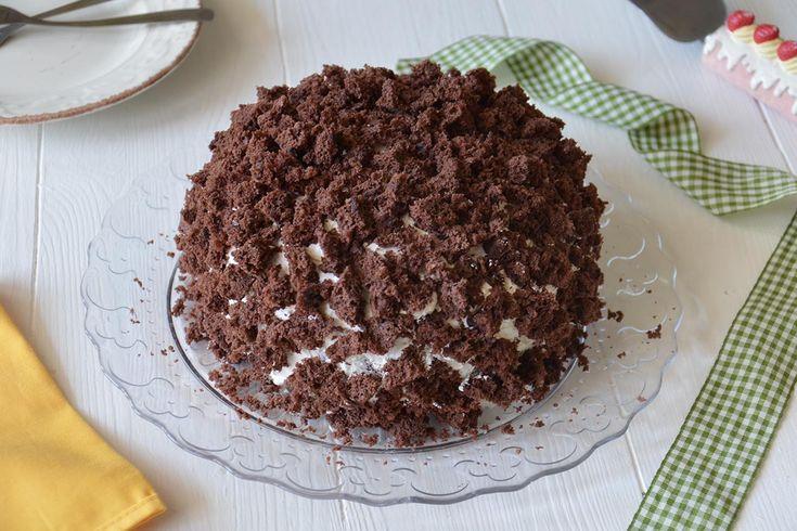 La torta mimosa al cioccolato