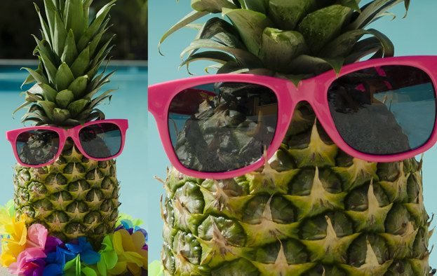 Who Is Your Arch Nemesis? Apparently mine is a pineapple wearing sunglasses.