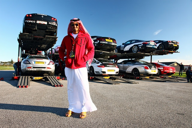 What car will Sheikh Moe bring this year?