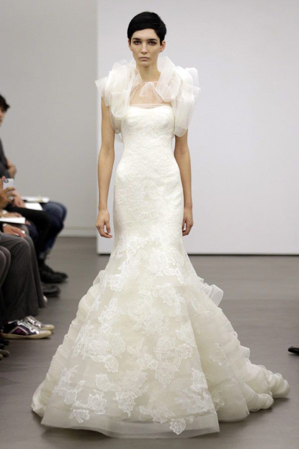 Vera Wang Fall 2013 Bridal Collection Wedding DressesWedding