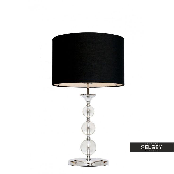Lampa stołowa Crystal od #selseyliving, #lightingdesign #homedecor, #glamour