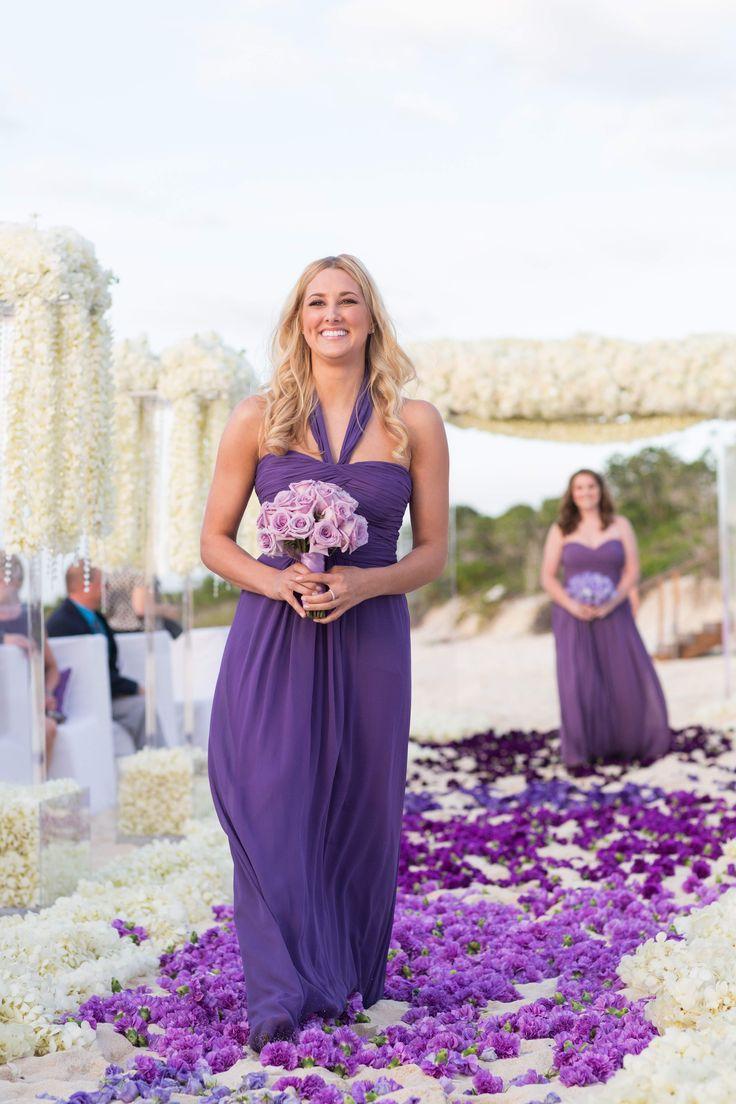 25+ Best Ideas About Purple Beach Weddings On Pinterest
