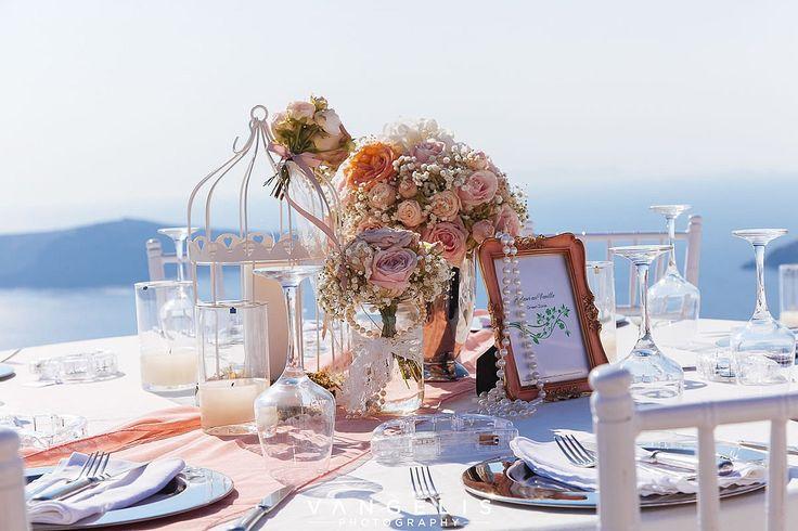 Luxurious Santorini Wedding Event @ La Maltese Estate Villa