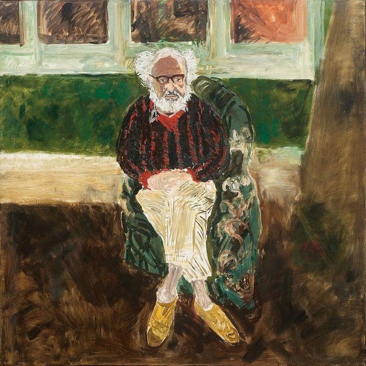 17 Images About John Bratby On Pinterest: Portrait Of John Bratby By Jean Cooke (Jean Bratby