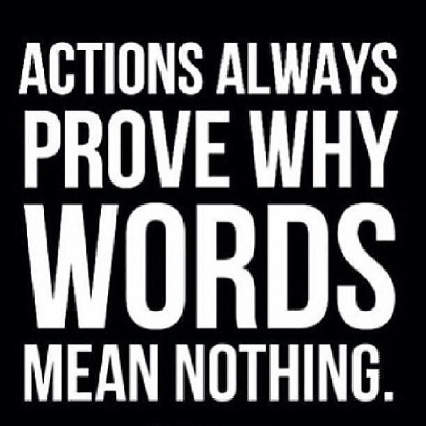 Quotes On Actions Speak Louder than Words