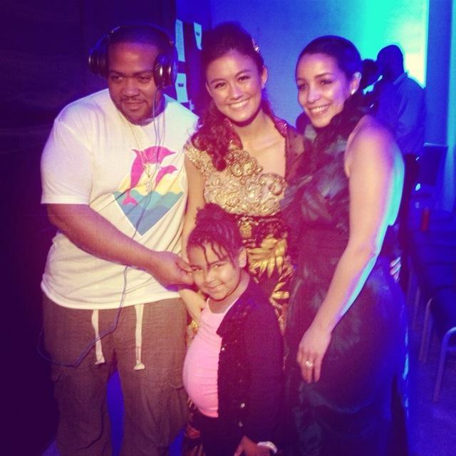 Timbaland, Agnes Monica, Monique, and Reign