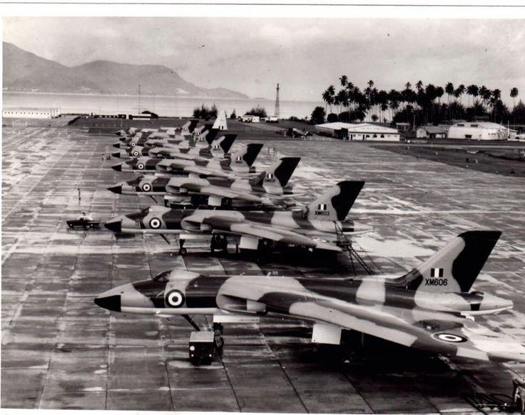 RAF Vulcans at RAF/RAAF/RMAF Butterworth