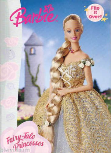 2000 Barbie Fairy Tale Princesses Coloring Book